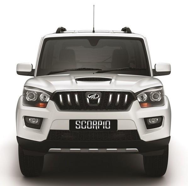 Mahindra Scorpio Automatic front
