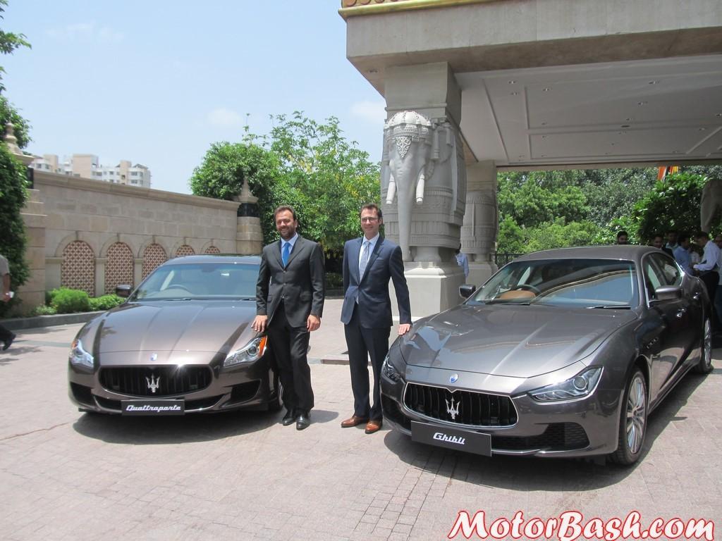 Maserati Quattroporte and Ghibli 1