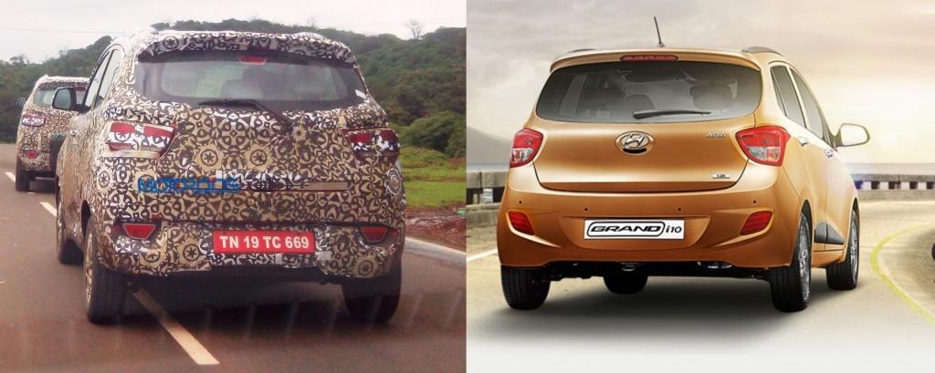 Comparo Mahindra S101 vs Hyundai Grand i10