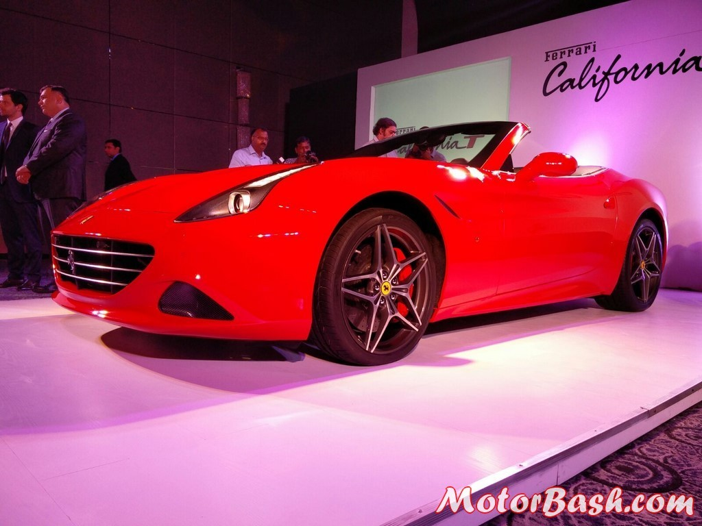 Ferrari California T three quarter