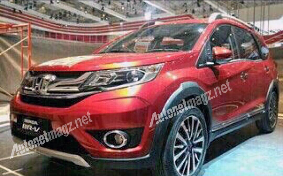 Honda-BR-V-Compact-SUV-Concept-Red-Spy-Pics (1)