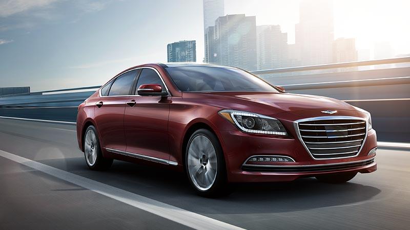 Hyundai Genesis 2015 front