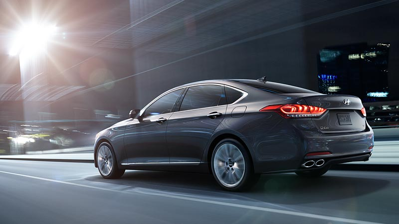 Hyundai Genesis 2015 rear