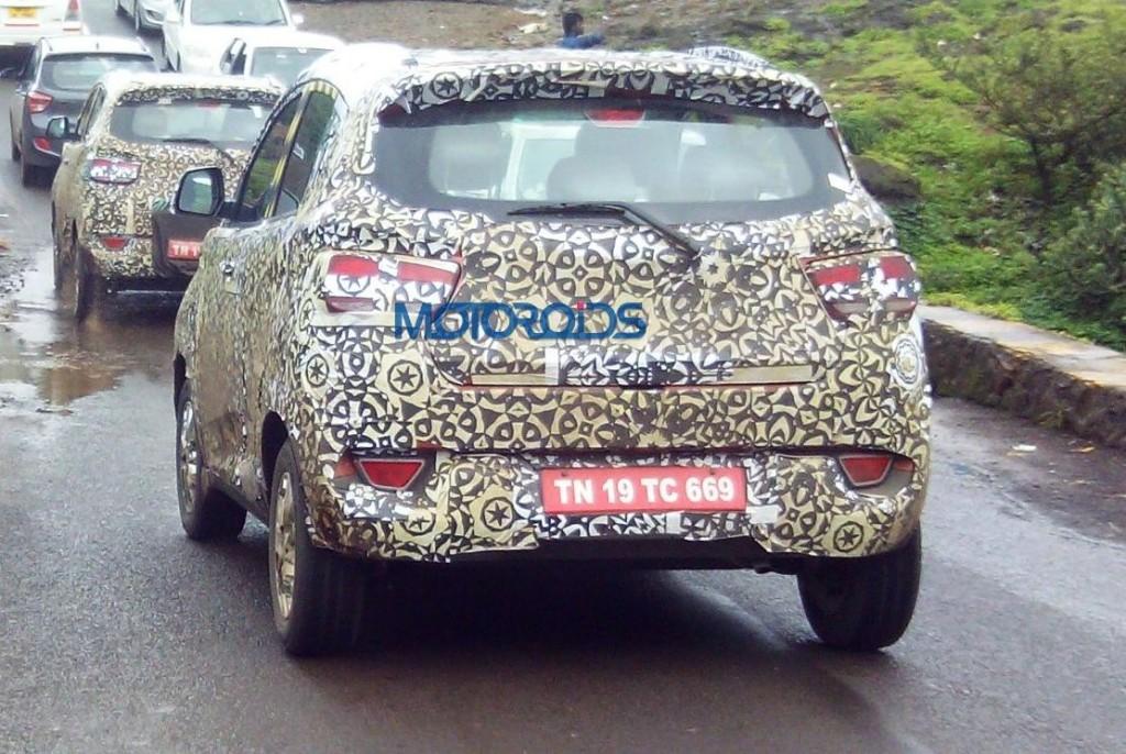 Mahindra S101 rear