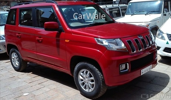 Mahindra-TUV300-Spy-Pics-side