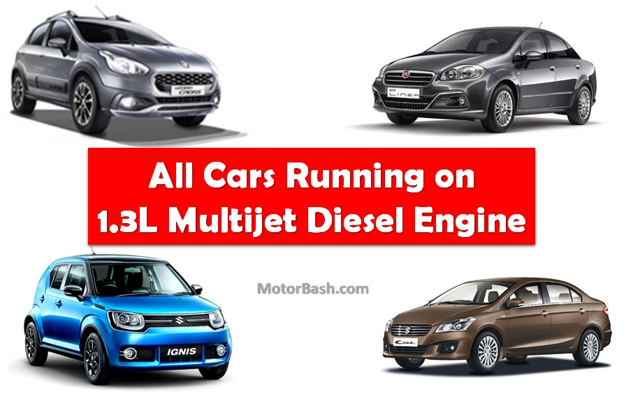 List Of Cars >> List Of All Indian Cars That Run On Fiat S 1 3l Multijet