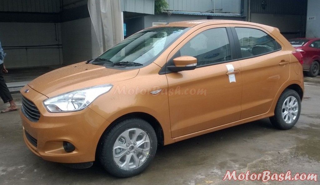Ford Figo hatchback 4