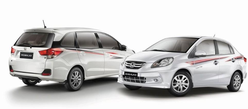 Honda Amaze Mobilio Celebration Edition
