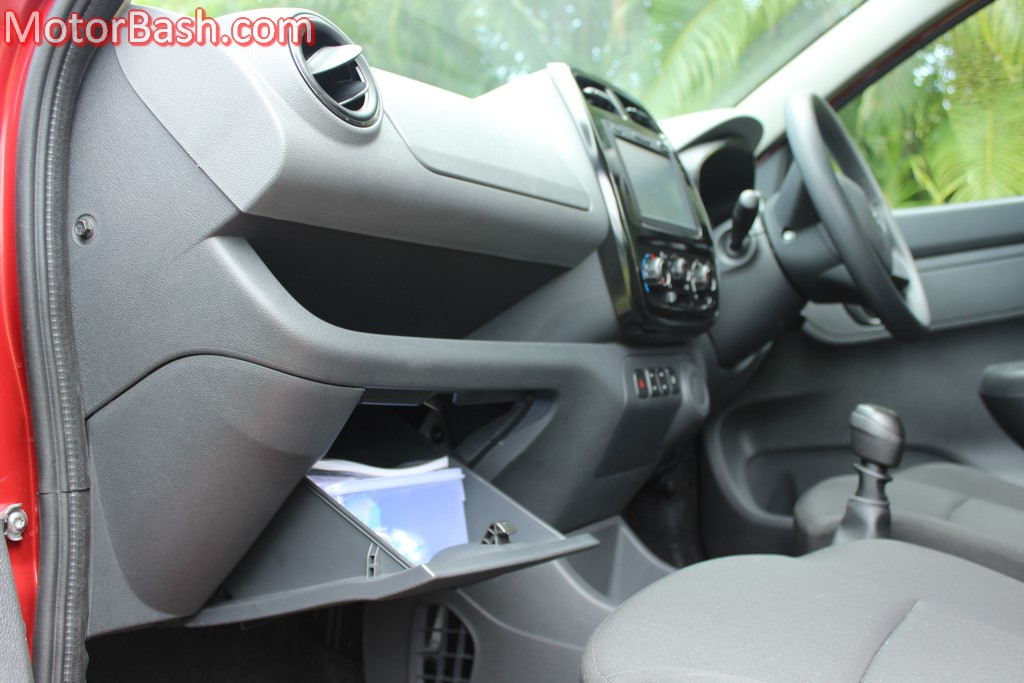 Kwid glovebox