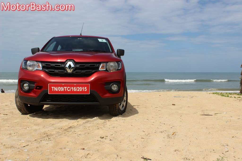 Kwid on the beach