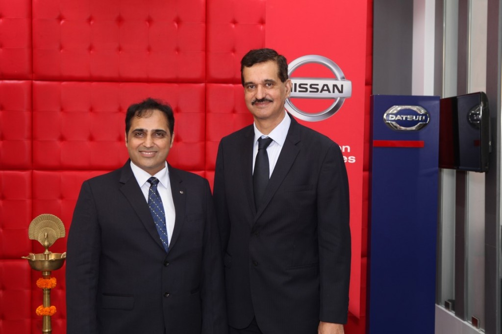Manoj Lalwani, Dealer Principle-Ritu Nissan with Mr. Arun Malhotra at th...