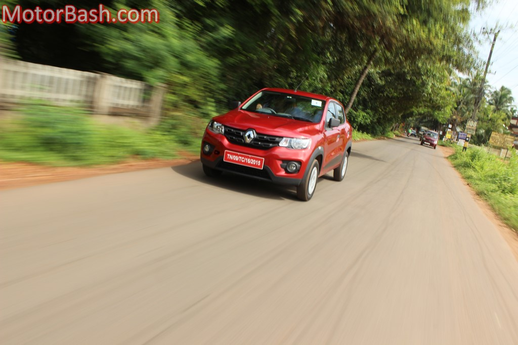 Renault Kwid motion shot