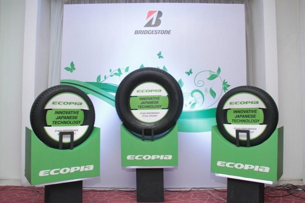 Bridgestone Ecopia tyres