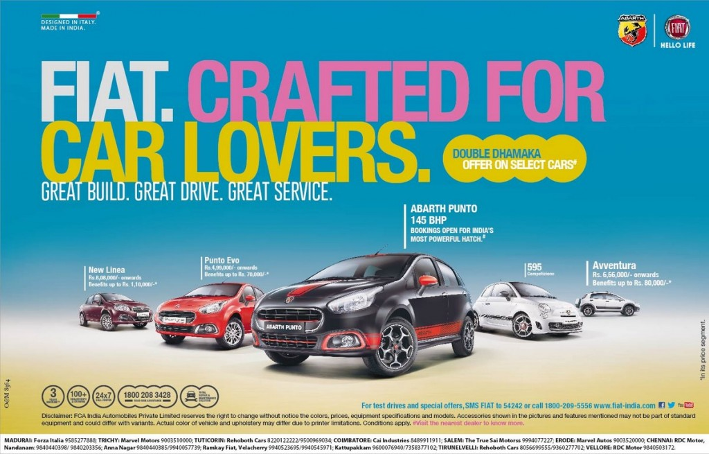 Fiat festive offer