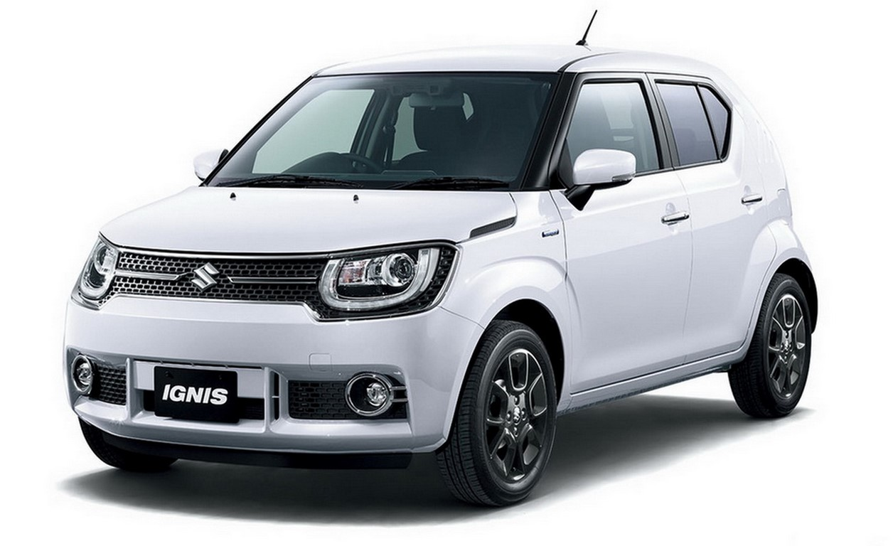 suzuki ignis crossover to be showcased at tokyo motor show. Black Bedroom Furniture Sets. Home Design Ideas