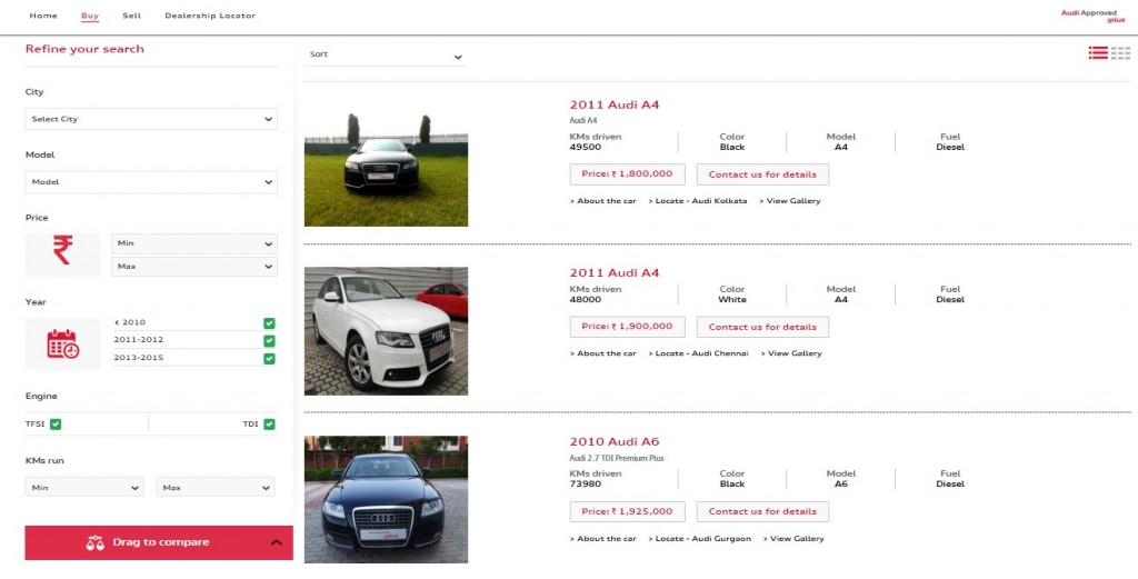 Audi Approved Plus Buy