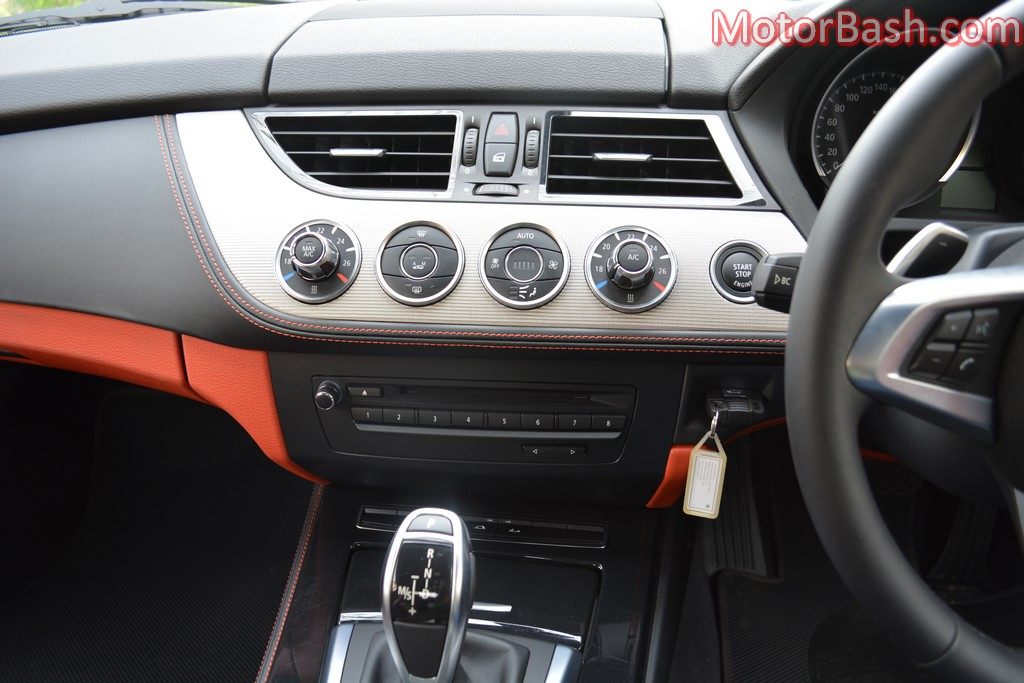 BMW Z4 dashboard