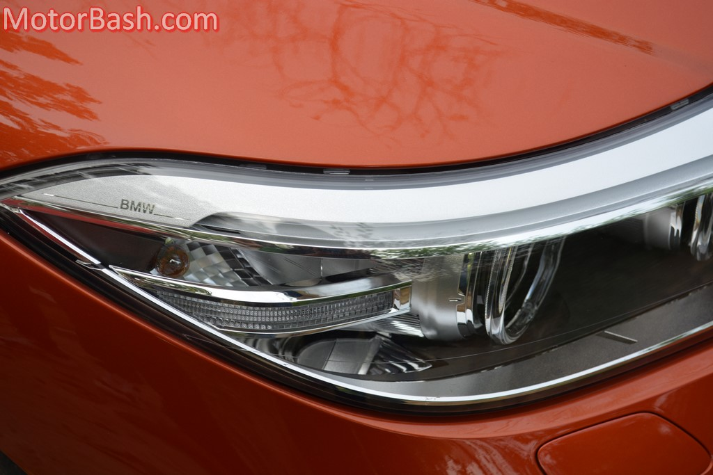 BMW Z4 headlamps