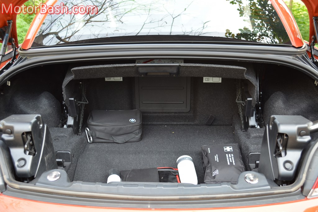 Bmw Z4 Boot Space