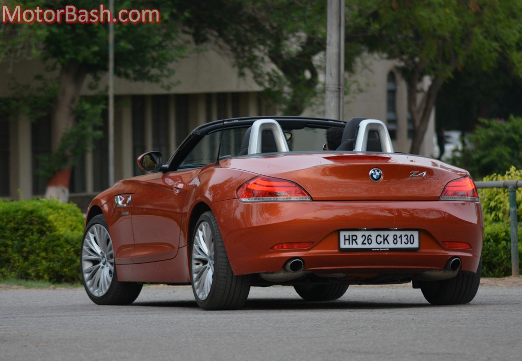 BMW Z4 rear three-quarters