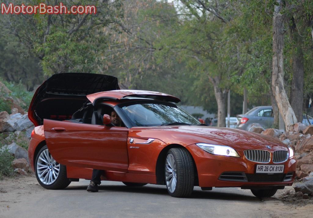 BMW Z4 folding roof