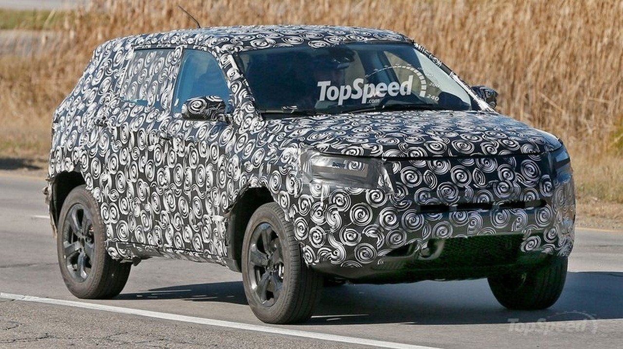 Jeep C Suv >> Upcoming Jeep C Suv Spotted Is This The One Which Will Be