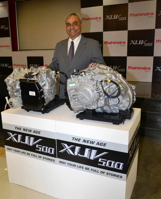 Mahindra XUV 500 automatic