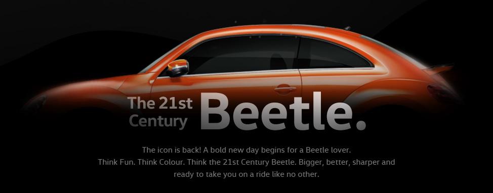 Volkswagen Beetle teaser