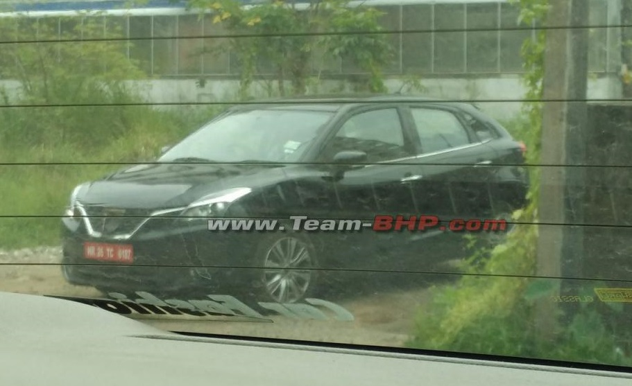 Baleno Boosterjet Turbocharged Spy pic India-black
