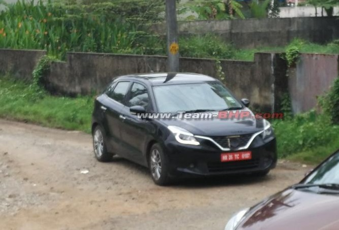 Baleno Boosterjet Turbocharged Spy pic India (2)