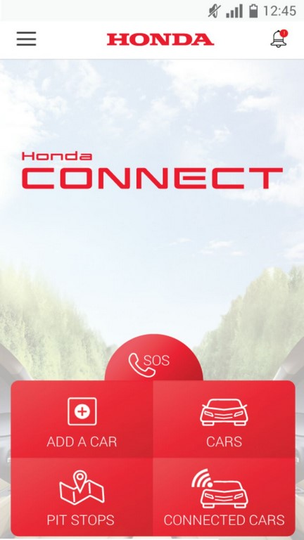 Honda Connect App