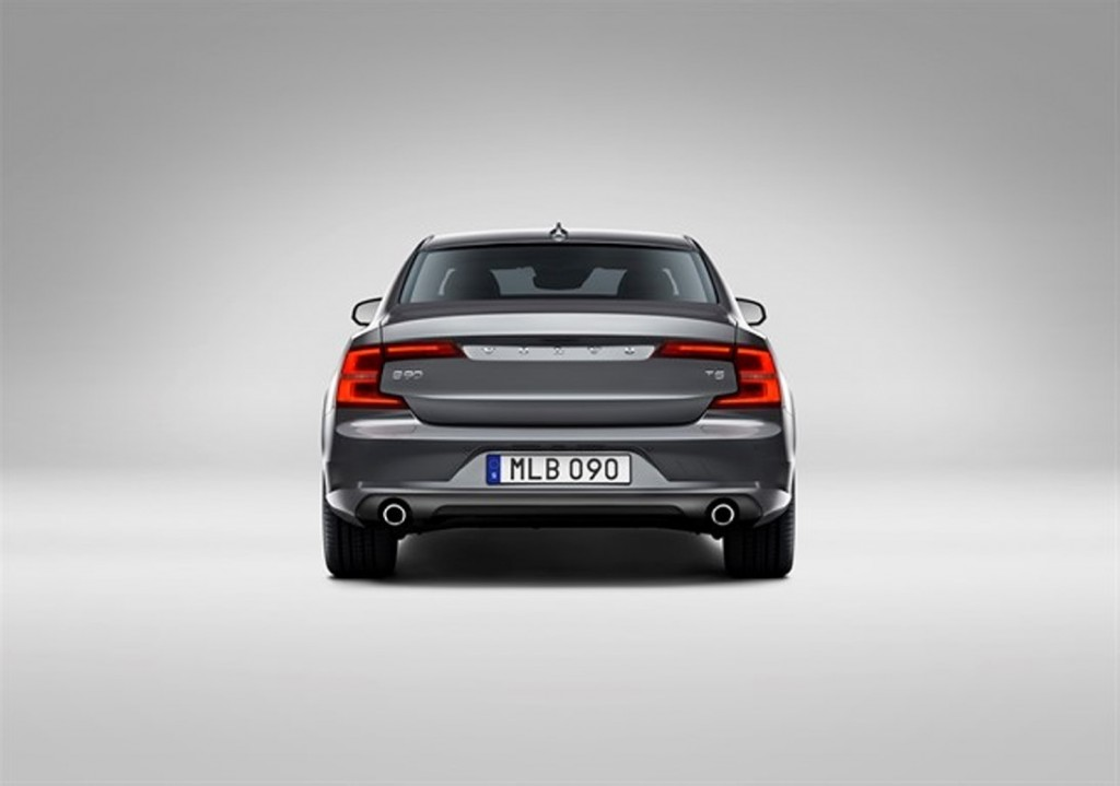Rear Volvo S90 Osmium Grey