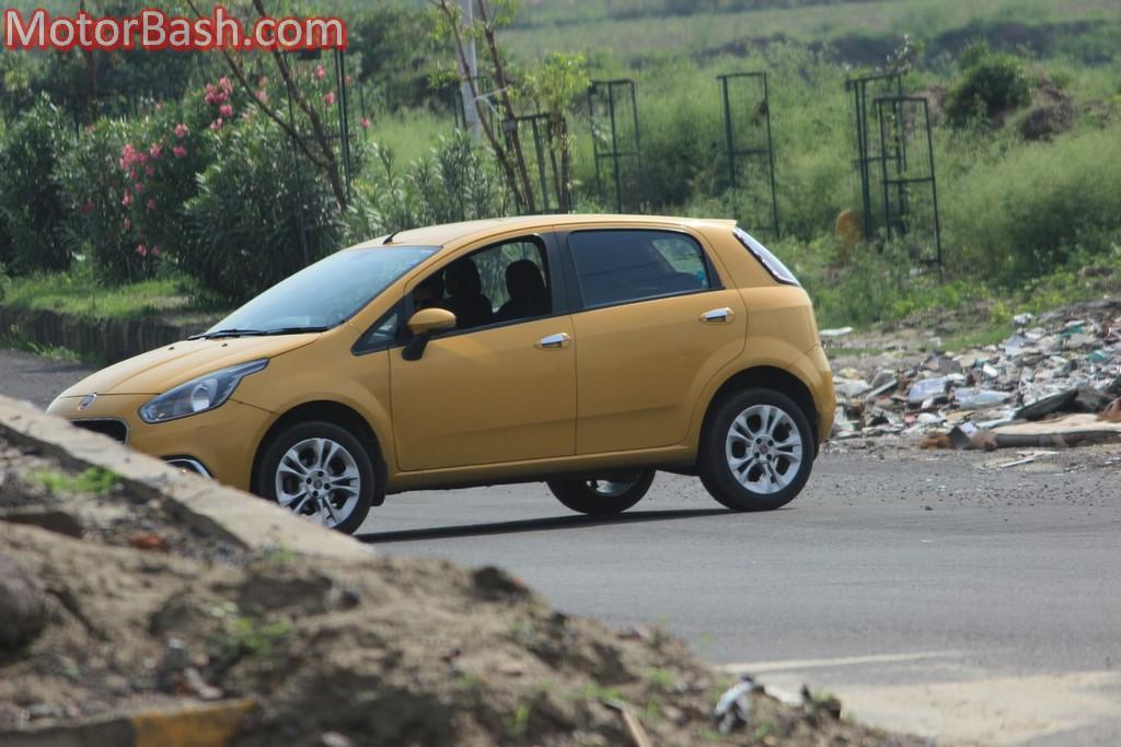 Fiat Punto Evo Sport 90hp profile