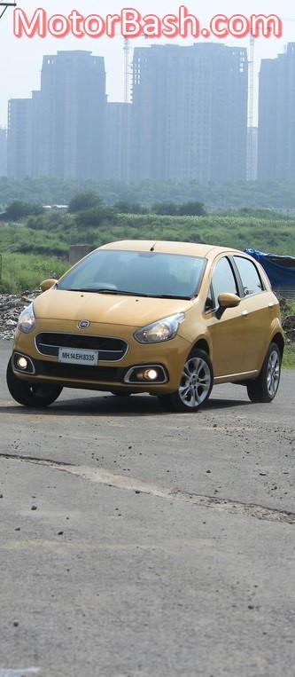 Fiat Punto Evo Sport Cornering