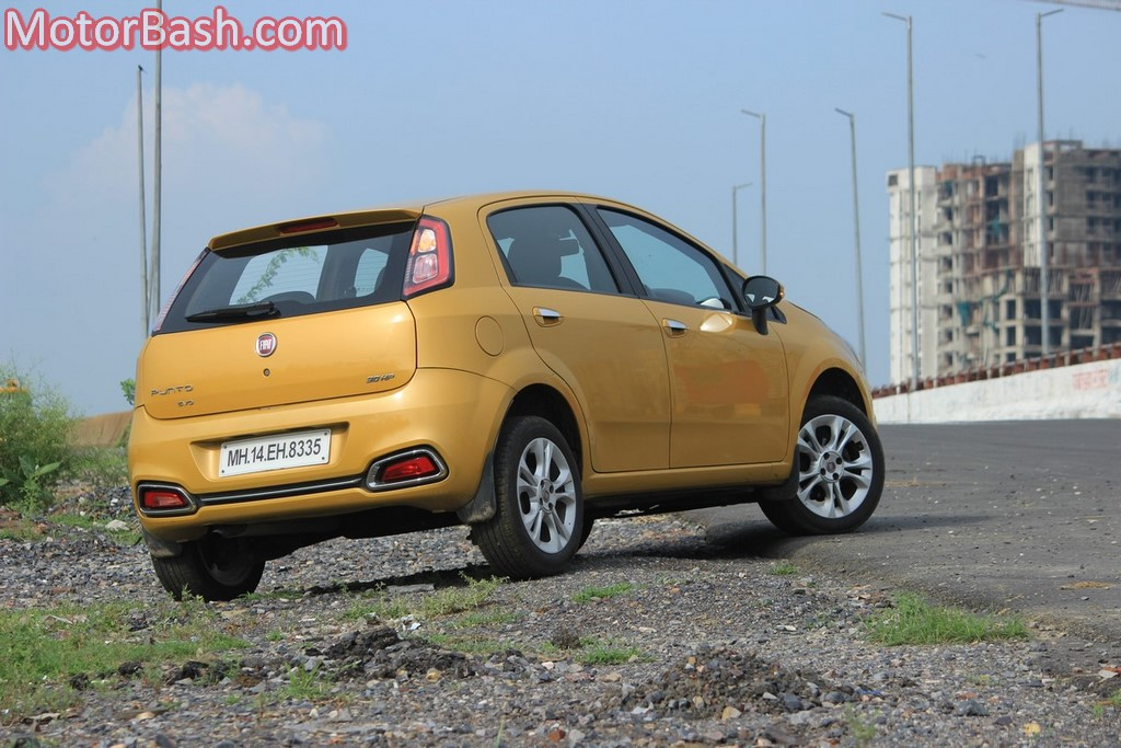 Fiat Punto Evo Sport rear three-quarters