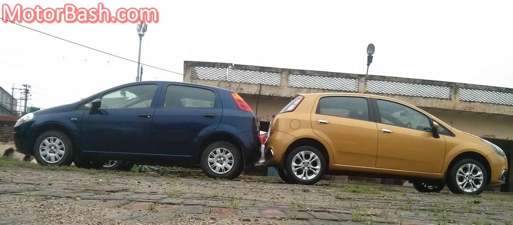 Fiat Punto Evo vs Fiat Grande Punto