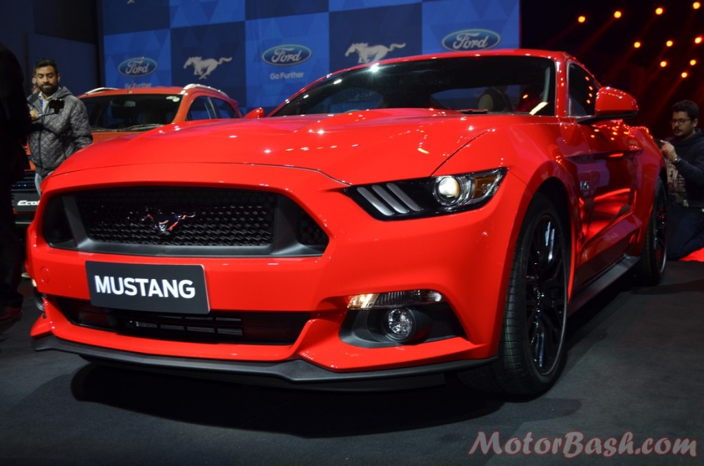 Ford Mustang front three quarter