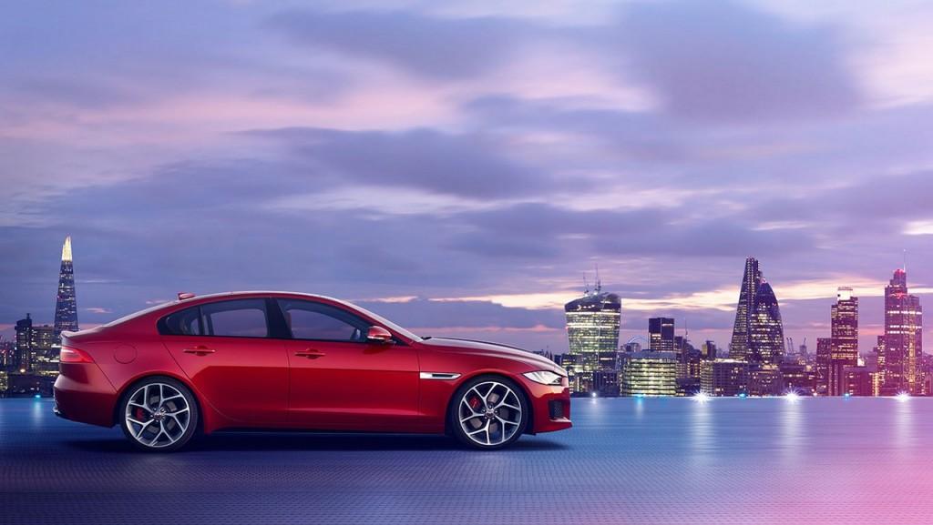 Jaguar XE side