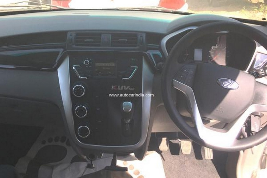 Mahindra KUV100 Interiors - Dashboard