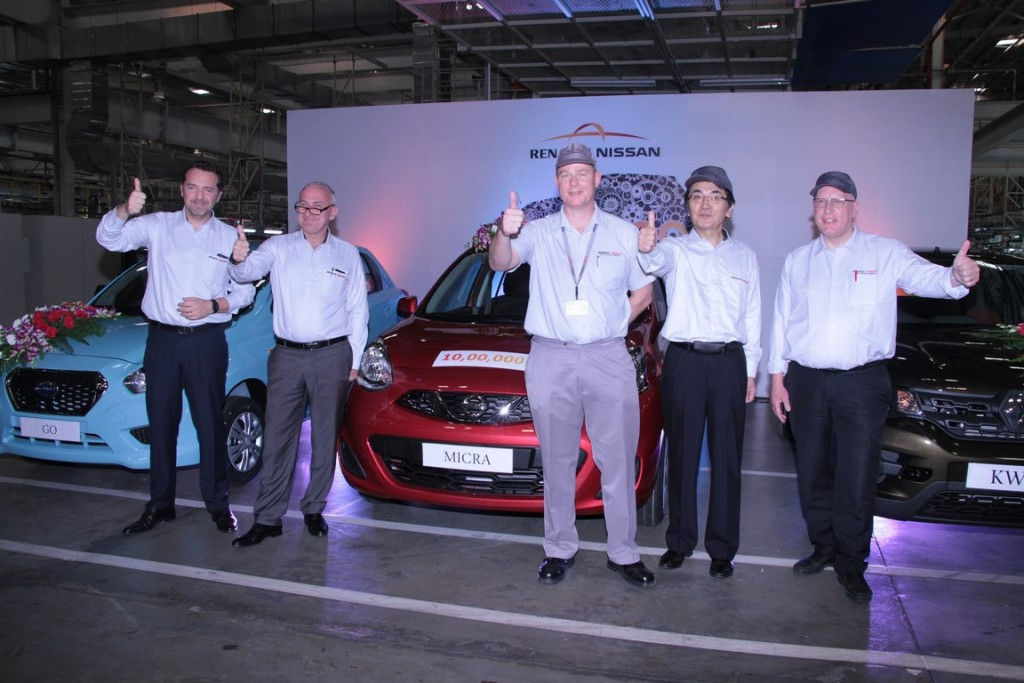 Renault Nissan 1 millionth car