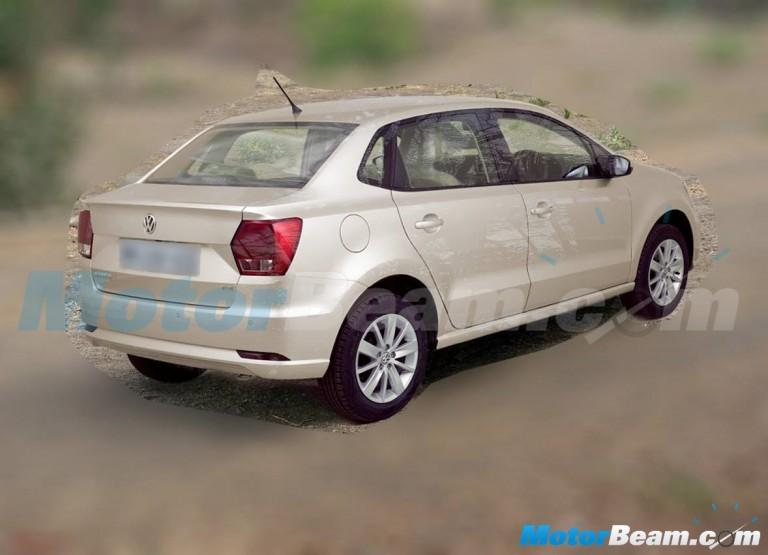 Volkswagen Ameo spy pic