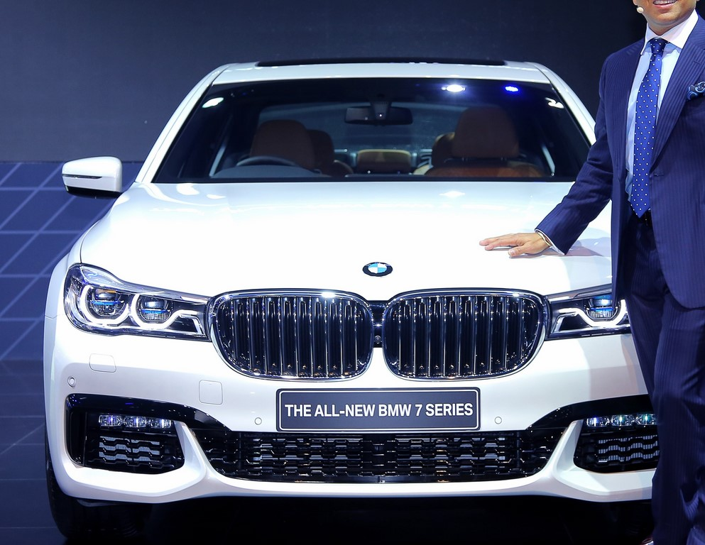 2016 BMW 7-Series white India