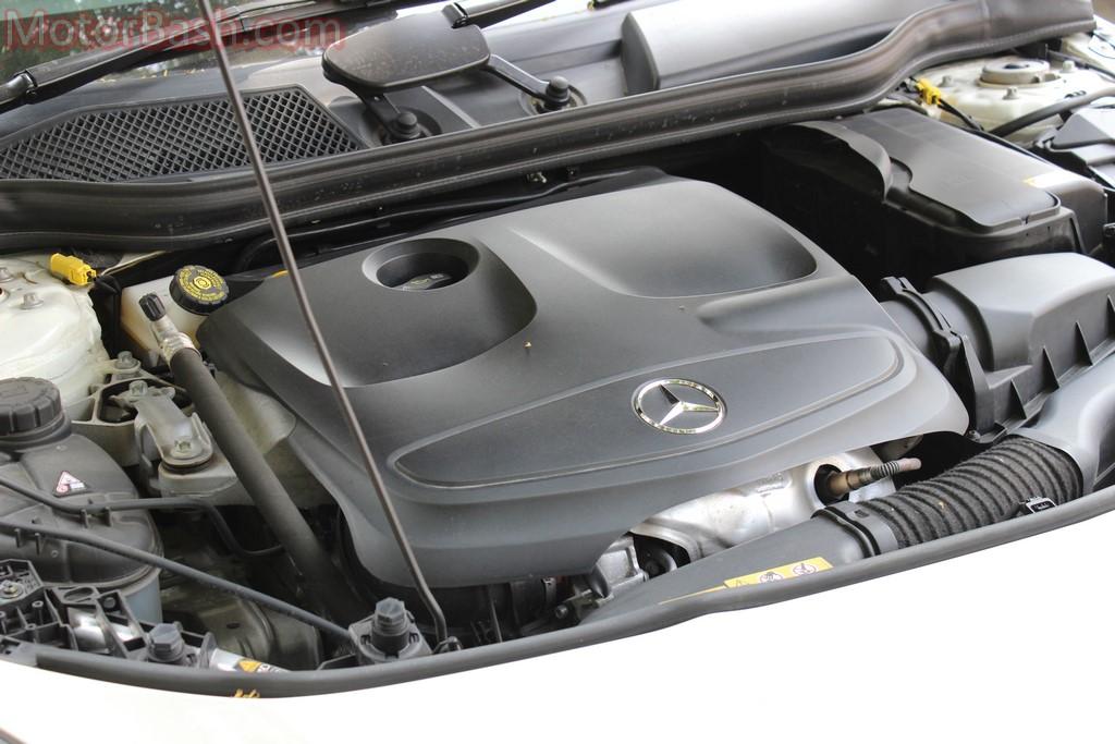 CLA petrol engine