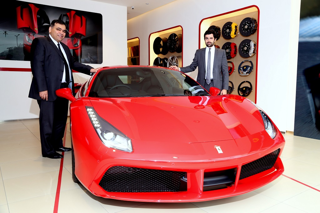 Ferrari 488 GTB India Launch
