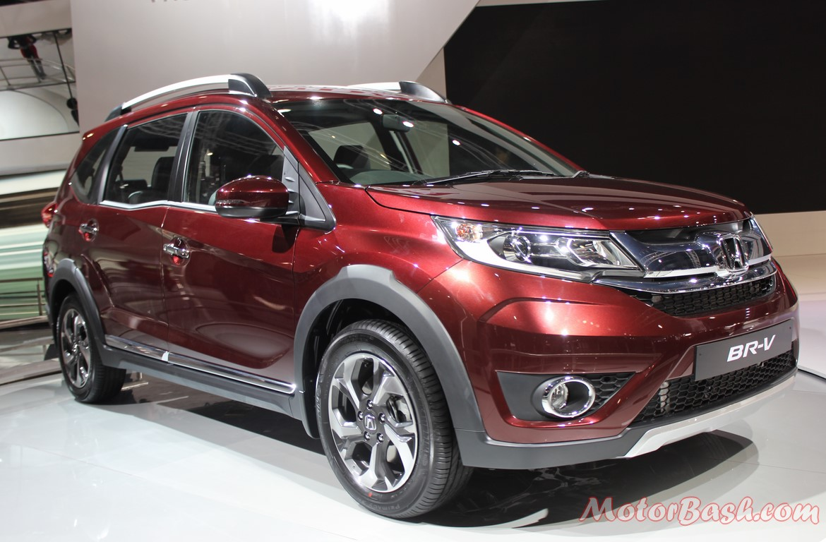 honda br v launch this year compact suv at auto expo. Black Bedroom Furniture Sets. Home Design Ideas