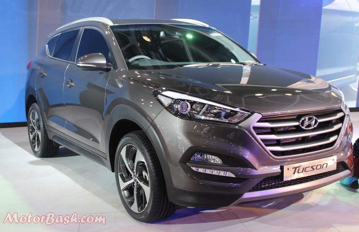 Hyundai Tucson Pic INdia