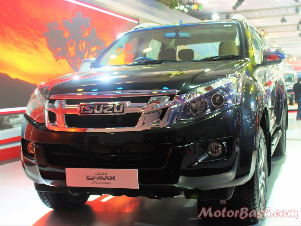 Isuzu D-Max V-Cross Pick-up Black front