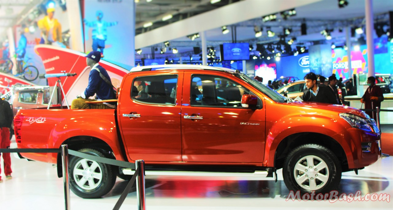 Isuzu D-Max V-Cross Pick-up Orange