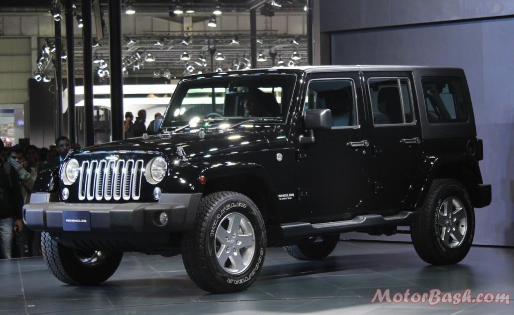 Jeep Wrangler Unlimited Black