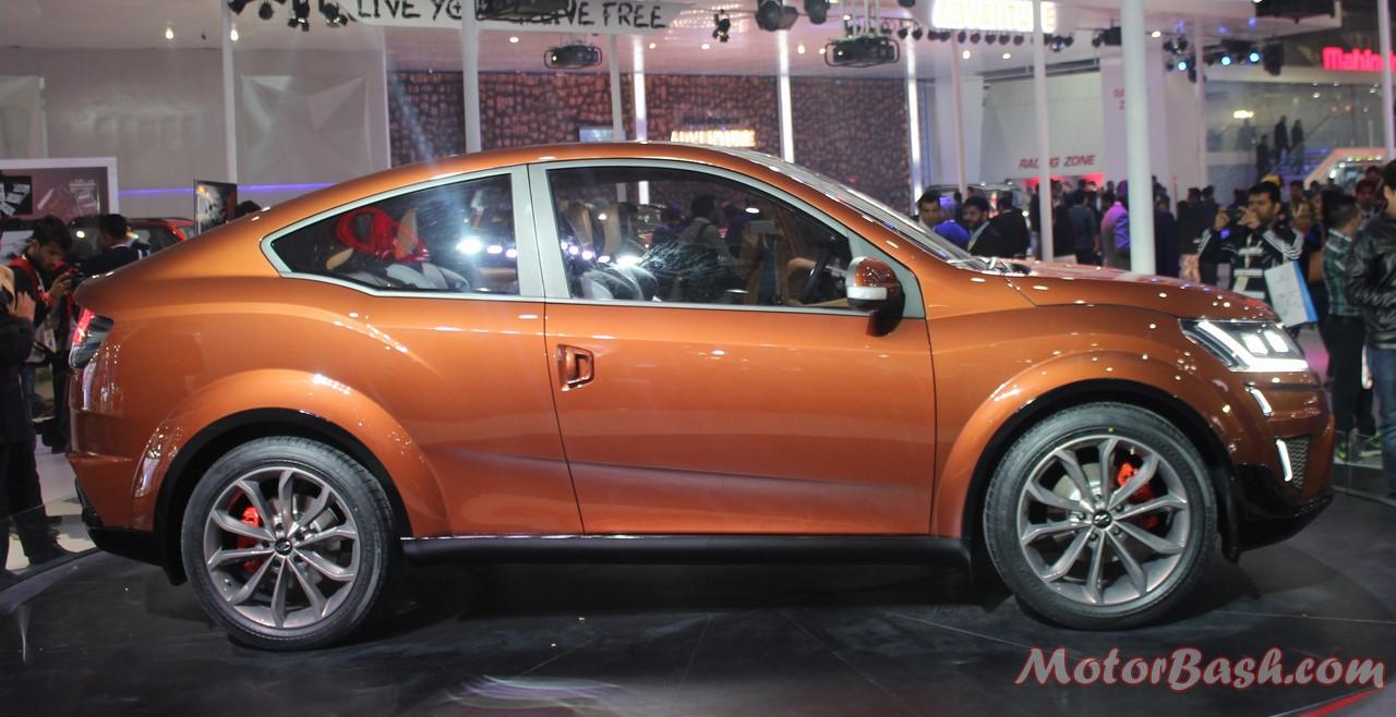 Mahindra-XUV Aero Pics Side
